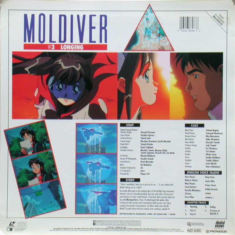 "Moldiver Episode 3 ""Longing"": Back"